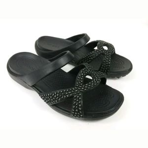 Crocs Sandal Meleen Twist Diamante Relax Fit